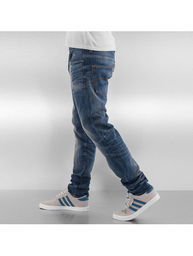 G-Star Herren Skinny Jeans 3301 Slim in blau