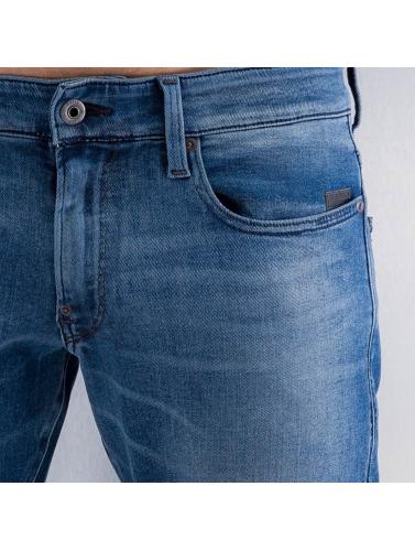 G-Star Herren Skinny Jeans Revend Super Slim Slander in blau