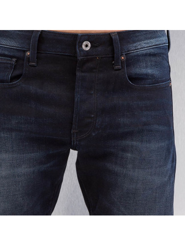 G-Star Herren Skinny Jeans 3301 Slim Siro in blau