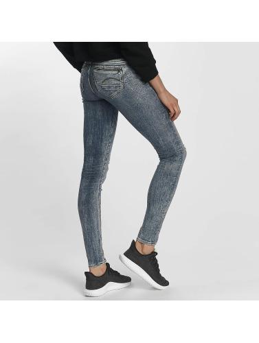 G-Star Damen Skinny Jeans Midge Zip in blau