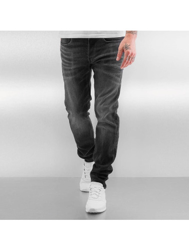 G-Star Herren Skinny Jeans 3301 Slim Skop Black Strech Denim in grau