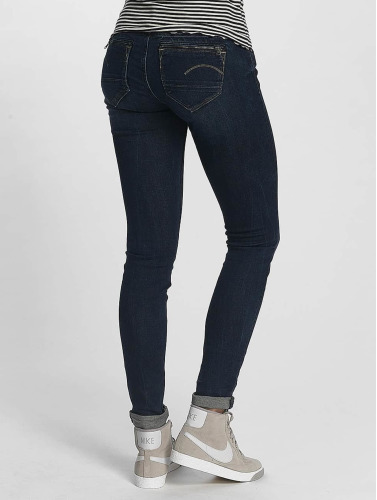 G-Star Damen Skinny Jeans Midge Zip in schwarz