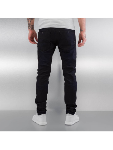 G-Star Herren Slim Fit Jeans Powel Super Slim Visor in schwarz