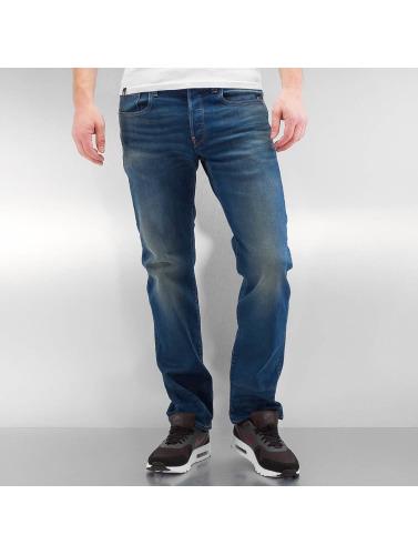 G-Star Herren Straight Fit Jeans Revend Straight Firro Stretch Denim in blau