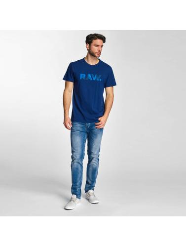 G-Star Herren T-Shirt Draye Compact Jersey in blau