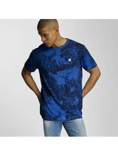 G-Star Herren T-Shirt Relax Lyon Jersey HW AO OD in blau
