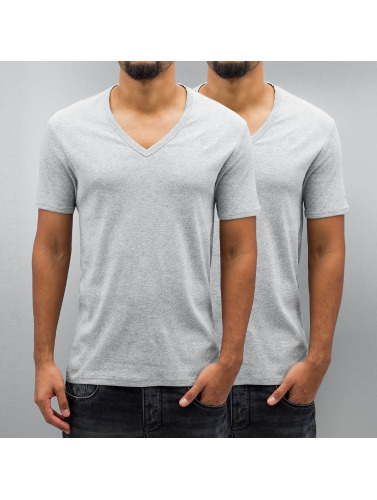 G-star T-shirt De Base De Pack De 2 En Gris