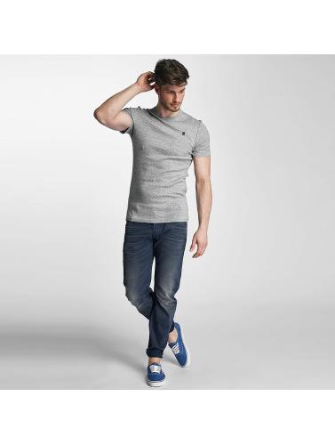 G-Star Herren T-Shirt Unstand Premium Cool Rib in grau
