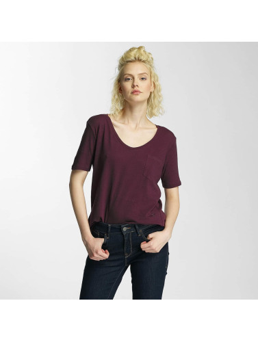G-Star Damen T-Shirt Adisyon Straight Deep Cereme in rot
