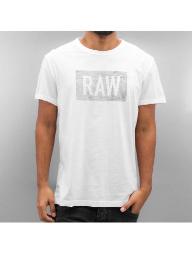 G-Star Herren T-Shirt Crostan in weiß