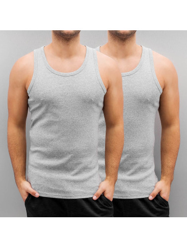 G-Star Hombres Tank Tops Base in gris