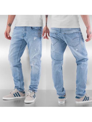 G-star Menn Slanke Skinny Jeans 3301 I Blått billig lav pris cpx4GXvN