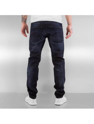G-Star Hombres Vaqueros pitillos 3301 Slim Siro in azul