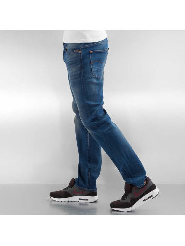 G-Star Hombres Vaqueros rectos Revend Straight Firro Stretch Denim in azul