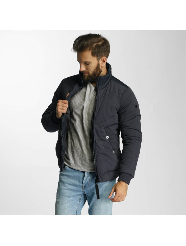 G-Star Herren Winterjacke Strett Chevron in blau
