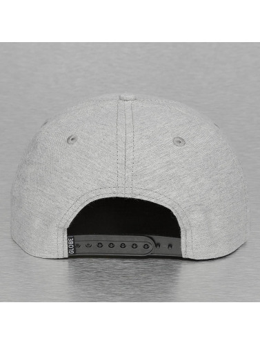 Globe Snapback Cap Argyle in grau