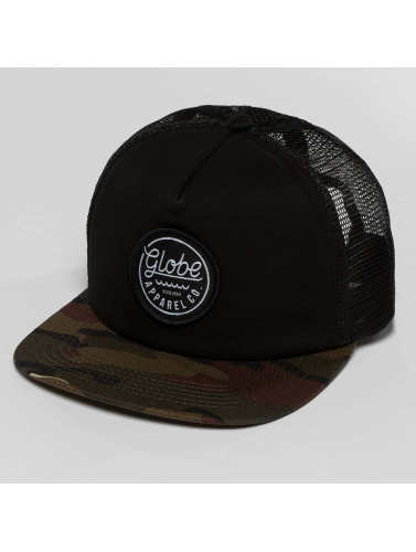 Globe Trucker Cap Expedition in camouflage