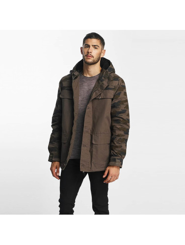 Globe Herren Winterjacke Goodstock Blocked in camouflage