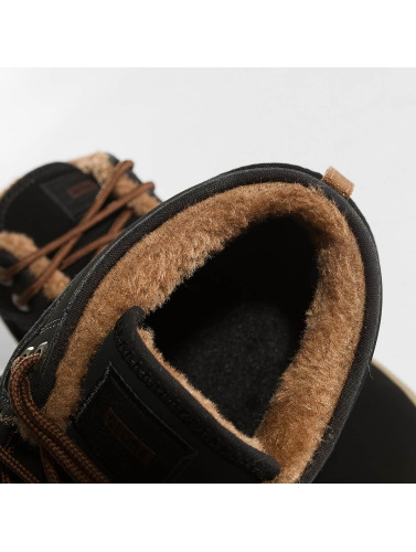 Globe Hombres Zapatillas de deporte Motley Mid in negro