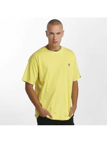 Grimey Wear Hombres Camiseta Heritage in amarillo