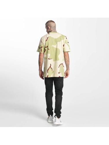 Grimey Wear Hombres Camiseta Natural Camo in camuflaje