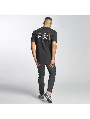 Grimey Wear Hombres Camiseta Pampanga in negro