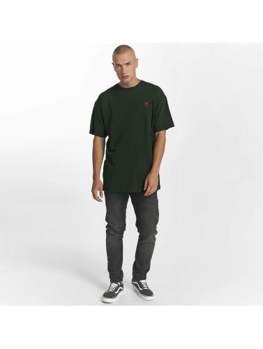 Grimey Wear Hombres Camiseta Heritage in verde