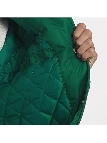 Grimey Wear Herren College Jacke Jade Lotus Satin in grün