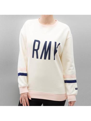 Grimey Wear Damen Pullover Walk On By Girl in beige