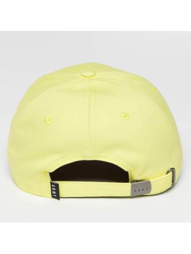 Grimey Wear Snapback Cap Heritage Curved Visor in gelb