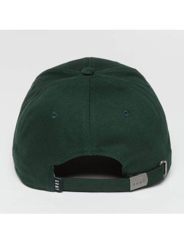 Grimey Wear Snapback Cap Heritage Curved Visor in grün