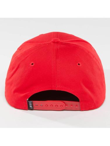 Grimey Wear Herren Snapback Cap The Lucy Pearl in rot