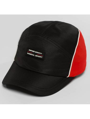 Grimey Wear Snapback Cap X 187 Vandal Sport in schwarz