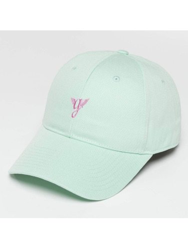 Grimey Wear Snapback Cap Heritage Curved Visor in türkis