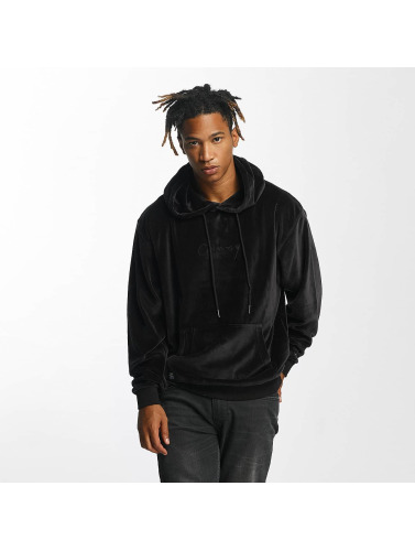 Grimey Wear Hombres Sudadera Natural Velour in negro