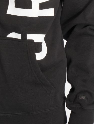 Grimey Wear Hombres Sudaderas con cremallera Heritage Infamous in negro