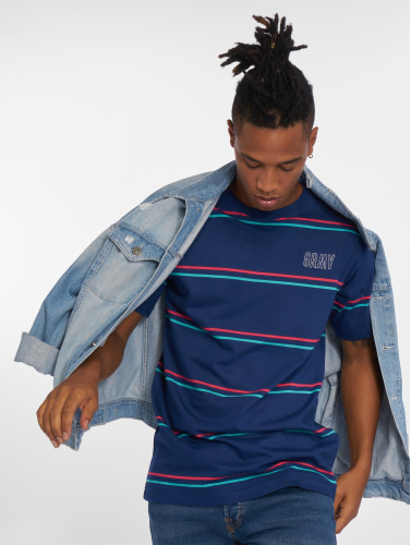 Grimey Wear Herren T-Shirt Rock Creek in blau
