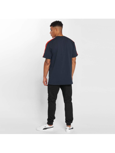 Grimey Wear Herren T-Shirt Ashe Piping in blau