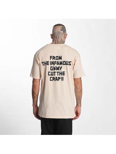 Grimey Wear Herren T-Shirt Cut The Crap in orange