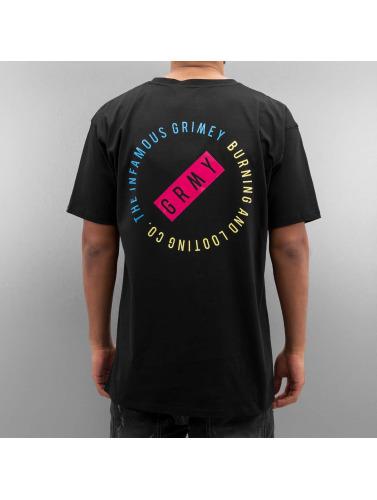Grimey Wear Herren T-Shirt Stick Up Logo in schwarz