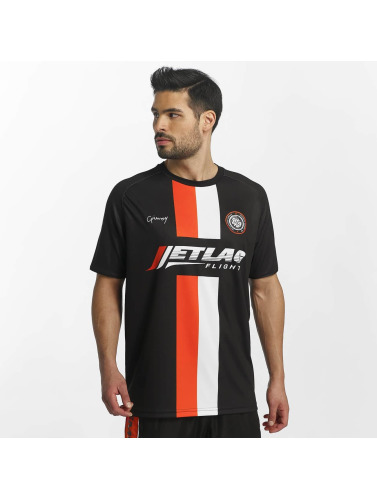 Grimey Wear Herren T-Shirt X 187 Vandal Sport Soccer in schwarz