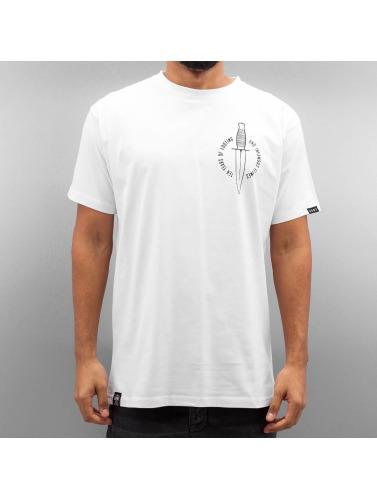 Grimey Wear Herren T-Shirt Ten Stab Wounds in weiß