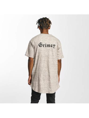 Grimey Wear Herren Tall Tees Hi Jack Curvy Long in braun