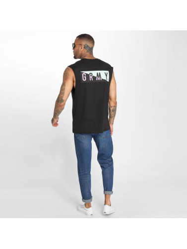 Grimey Wear Hombres Tank Tops S In The C in negro