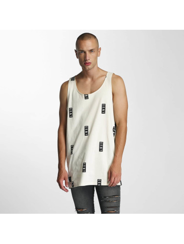 Grimey Wear Herren Tank Tops Stick Up in weiß