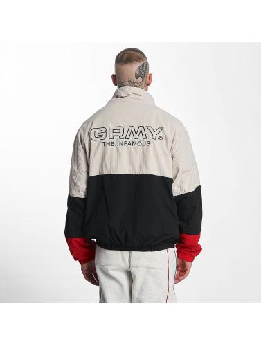 Grimey Wear Herren Übergangsjacke G-Skills in schwarz