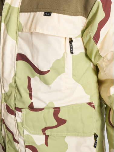 Grimey Wear Herren Winterjacke Pamir Peaks Camo in camouflage