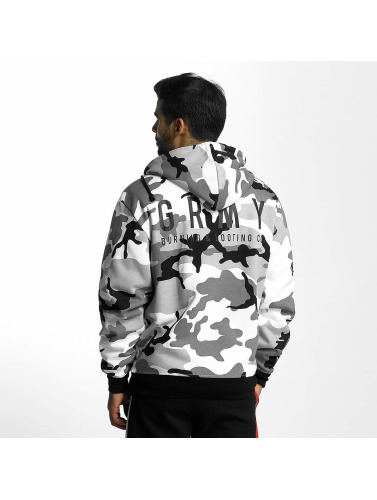 Grimey Wear Herren Zip Hoodie Core in camouflage