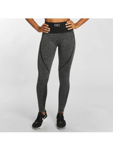 GymCodes Damen Legging Flex High-Waist in grau