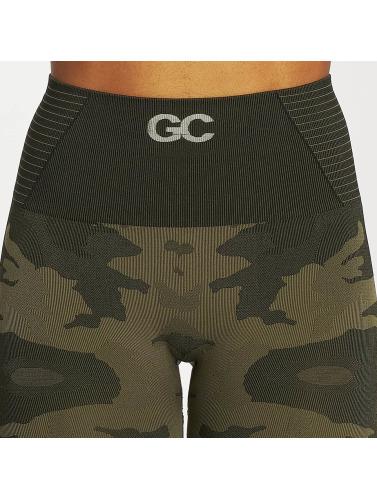 GymCodes Mujeres Legging/Tregging Flex High-Waist in camuflaje